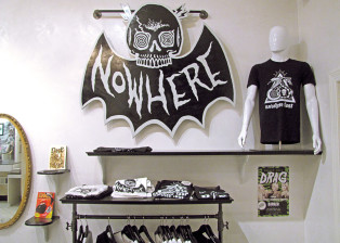 nowhere, fast, company, threads, vintage, apparel, bat, psychedelic, clothing, shirts, snakes, handprinted, leather, jackets, motorcycles, harley, davidson, triumph, yamaha, indian, motorbike